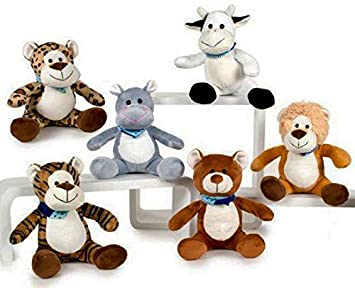 PELUCHES PACK 6 UNIDADES