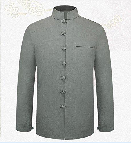 Tang Suit National Costume Retro Jackets Coats Men's dress Full dress Gentleman by BAOLUO-Tang Suit (Image #1)