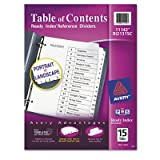 Ready Index Classic Tab Title (15 Pack) [Set of 2]