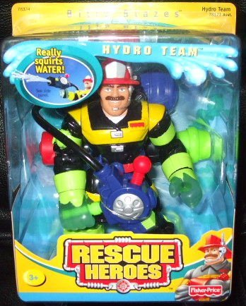 Fisher Price Rescue Heroes Billy Blazes Hydro Team
