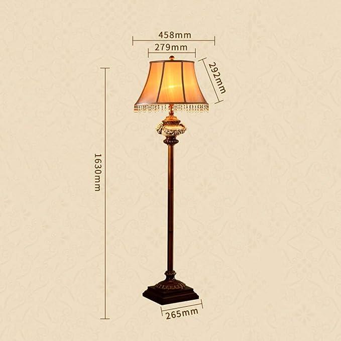 WYA Any Home Lamp Lámpara de pie Sofá Vintage Tallado ...