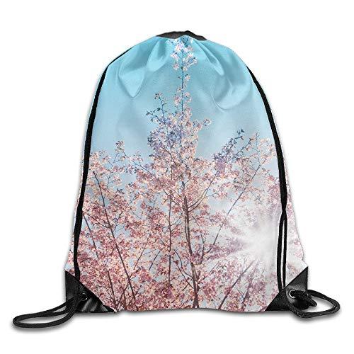 53a27d029bec Spring Sunshine Cherry Tree Blossom- Unisex Home Gym Sack Bag Sport  Drawstring Backpack Bag
