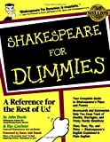 img - for Shakespeare For Dummies by John Doyle (1999-04-16) book / textbook / text book