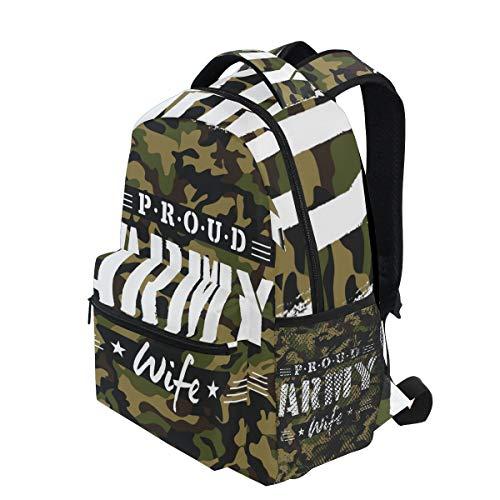 KVMV Proud Army Wife Tshirt Design Camouflage 16