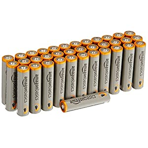 Amazonbasics Aaa 15 Volt Performance Alkaline Batteries Pack Of 36