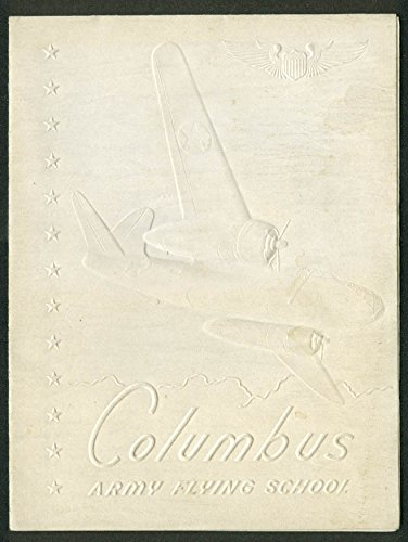 - Columbus Army Flying School Graduation Announcement Class 44-H 1944 MS