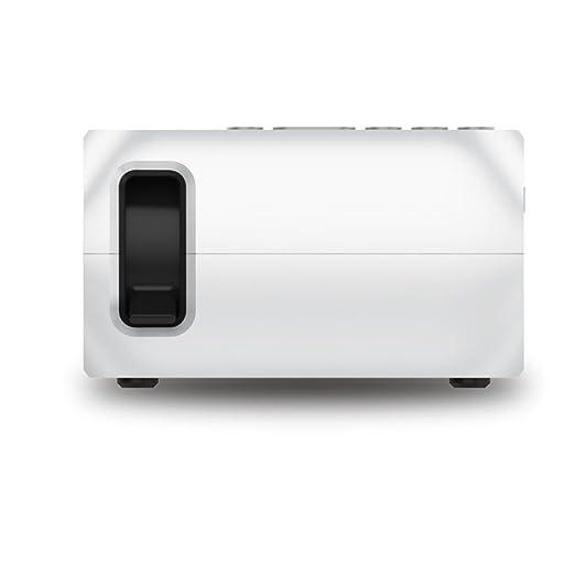 Proyector portátil, pantalla de 60 pulgadas y un proyector ...