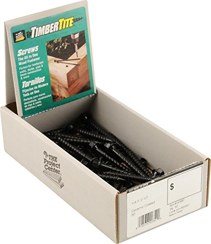 The Hillman Group 47989 1/4 X4 Timber-Tite Landscape Screw, ()