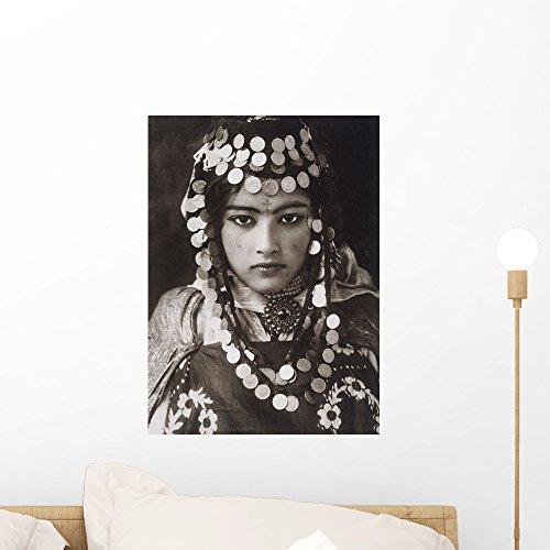 Algerian Girl Wears Dowry Wall Mural by Wallmonkeys Peel and Stick Graphic (18 in H x 13 in W) WM312351