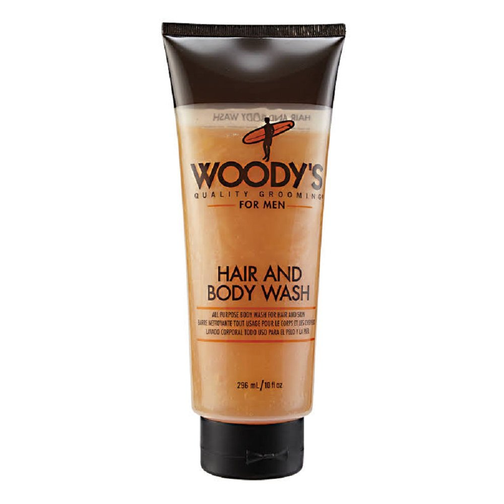 Woody's Hair and Body Wash, 10 Ounce