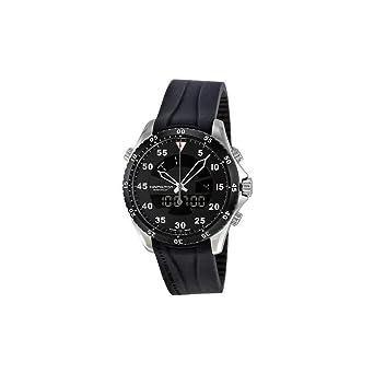a4b0acdbe13 Image Unavailable. Image not available for. Color  Hamilton Khaki Aviation Flight  Timer Quartz Men s Quartz Watch H64554331