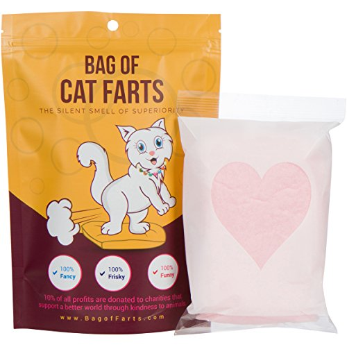 Bag of Cat Farts Cotton Candy Funny Unique Gag Gift for Friends, Mom, Dad, Birthday Girl, Boy