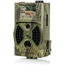 "Amcrest ATC-1201 12MP Digital Game Cam Trail Camera with Integrated 2"" LCD Screen Camo Green (Certified Refurbished)"