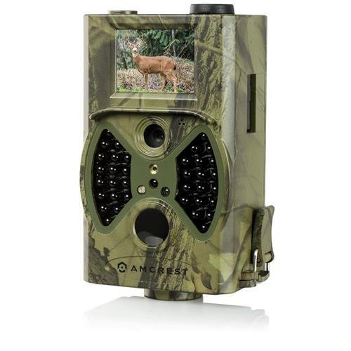 Amcrest Trail Game Camera (ATC-1201) 12MP HD 65ft Night Vision 100° Viewing Angle - 2018 Version