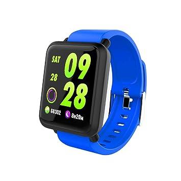 JAYLONG Smart Sport Watch Fitness Tracker Reloj presión Arterial ...