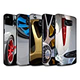 STUFF4 Gloss Tough Shock Proof Phone Case for Samsung Galaxy S7 Edge/G935 / Pack 18pcs / Porsche Collection
