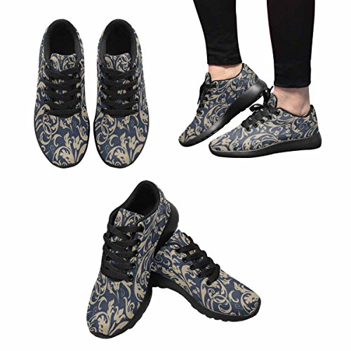 Scarpa Da Jogging Leggera Da Donna Running Jogging Leggera Easy Go Walking Sport Comfort Scarpe Da Corsa Multi 6