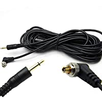 100cm Pc Line Pc Sync Cable Cord 30-100cm New Trigger giyt Extend L3P5 Ligh D7C3