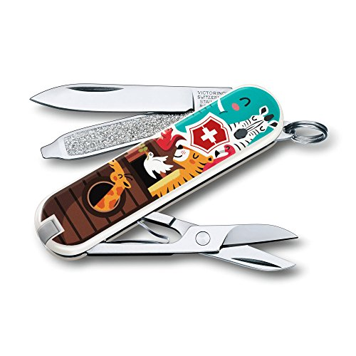Victorinox Swiss Army Classic Sd Pocket Knife, The (Red Classic Pocket Knife)