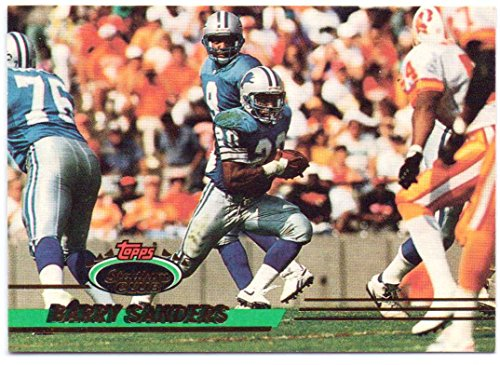Barry Sanders 1993 Stadium Club #120 - Detroit Lions (Fame Hall Sanders Of Barry)