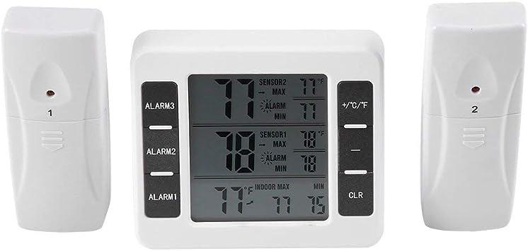Fosa - Termómetro Digital inalámbrico para frigorífico y congelador ...