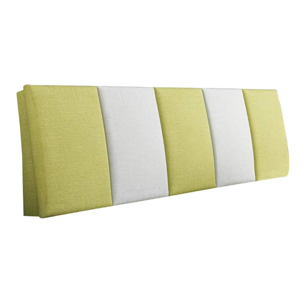 ZHWNGXO Bedside Cushion Without headboard backrest Soft pad Soft Pillow Waist pad can be Cleaned 3 Colors 14 Size (Color : B, Size : NO Bed Head 150×55cm) by ZHWNGXOlian
