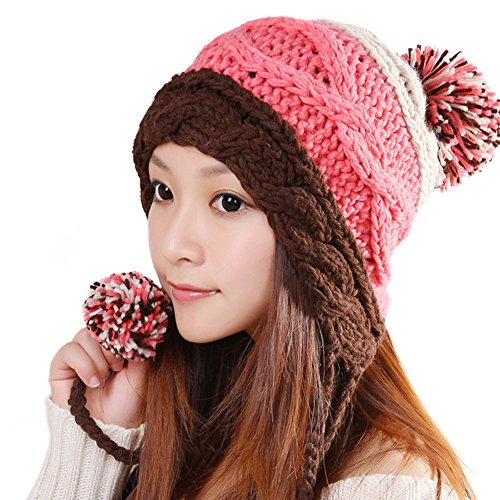 ALiberSoul Beanie Flap Winter Knit product image
