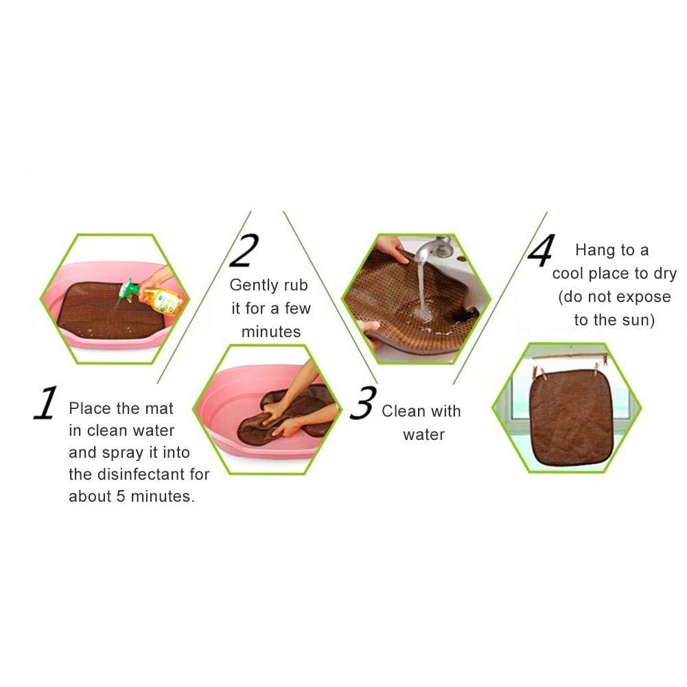 Hocolater Doble Cara para Mascotas Estera Enfriamiento Estera Caliente Antibacteriano Anti-/ácaro Coj/ín de Cama para Perros y Gatos para Four Seasons Manta de Franela Suave y Lavable para Perros