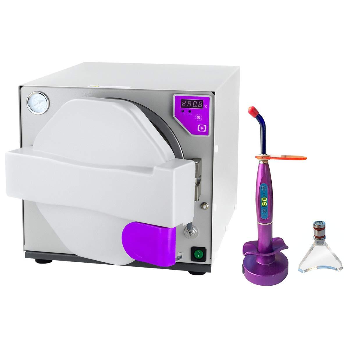 BONEW 18L Autoclave Steam Dental Lab Equipment Tool Mini330 by BONEW (Image #1)