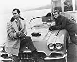 Route 66 Martin Milner George Maharis B&W 16x20 Canvas Giclee