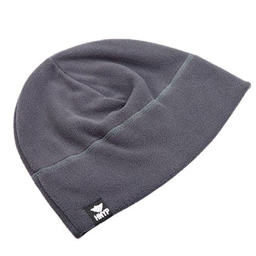 utdoor Skull Cap Simple Solid Daily Watch Hat Fleece Beanie Cap for Men, Gray (Fleece Lightweight Cap)