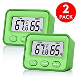 [Newest Design] 2 Pack Senbowe™ Digital Indoor Humidity Monitor Hygrometer Indoor Room...
