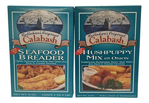 Callahans Original Calabash Seafood Breader & Hushpuppy Mix with Onion 8 Oz