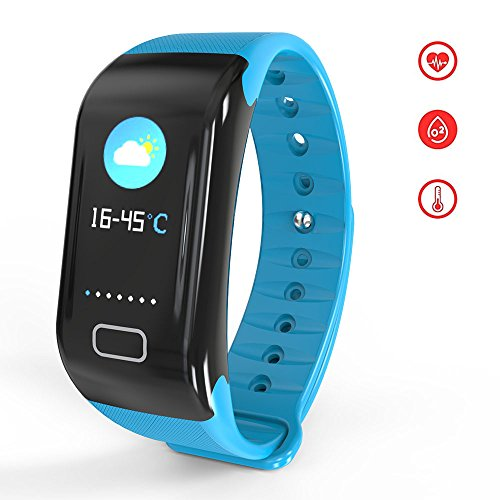BTwear Fitness Tracker with Heart Rate Monitor, Waterproof Activity Tracker with Blood Pressure Monitor for Androids and iOS - Bosch Cpu