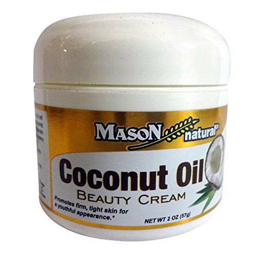 Mason Naturals Coconut Oil Beauty Cream 2 oz. per Jar PACK of 12
