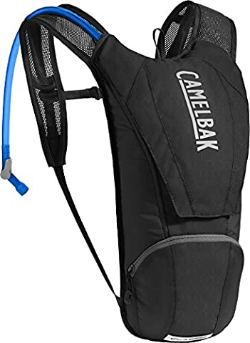 CamelBak Classic Crux Reservoir Hydration Pack, Black/Graphite, 2.5 L/85 oz
