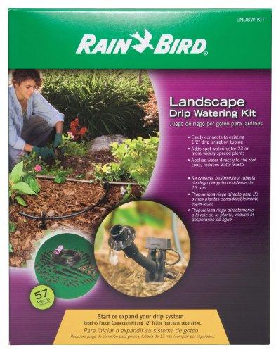 Drip Watering Landscape Kit - Rain Bird LNDSWKIT Drip Irrigation Landscape Spot Watering Kit