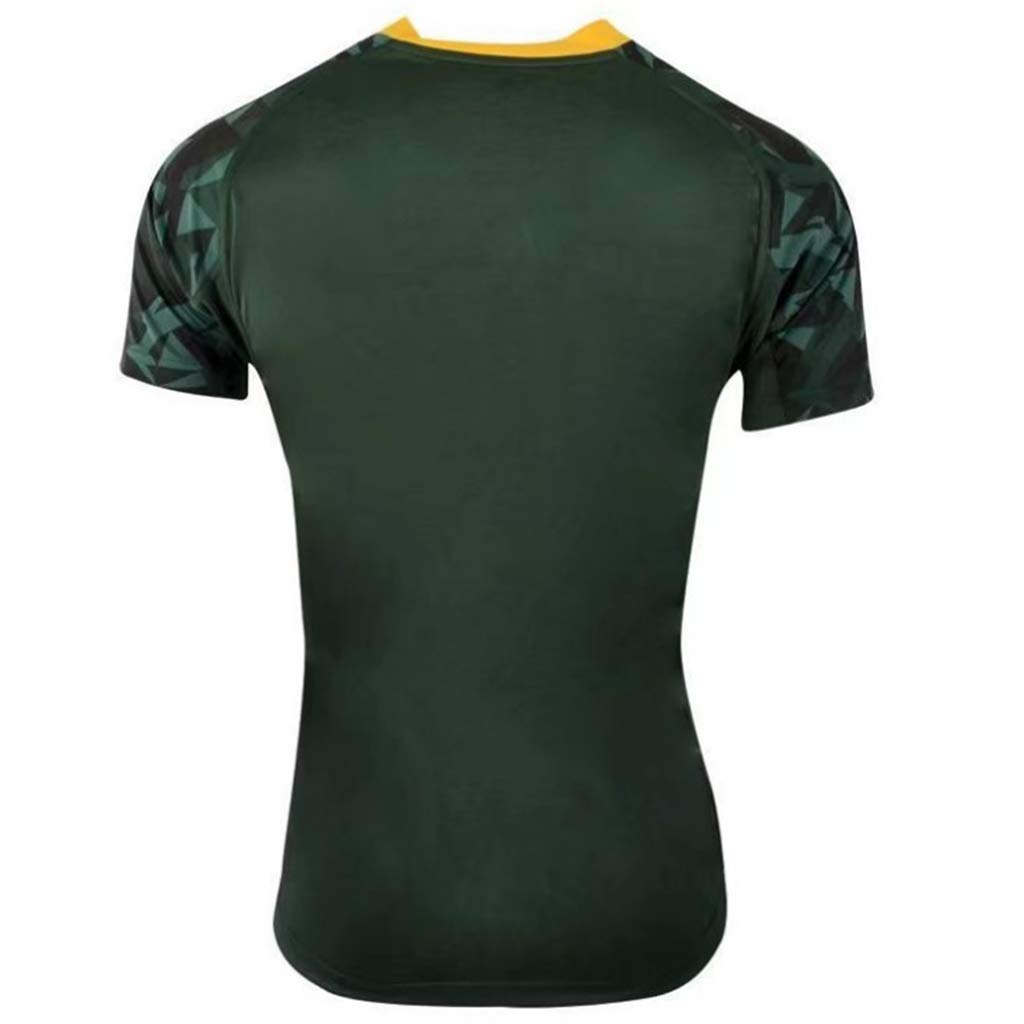 K-Flame South Africa Rugby Jersey Supporters Alternate T-Shirt Men Women Fans Casual Clothing Green Uniforms for Birthday