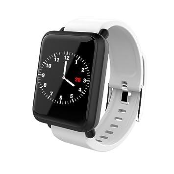 Amazon.com: SHL - Reloj inteligente de diente azul M28 con ...
