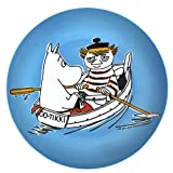 Moomin Blue Dessert Plate - Too Tiki Boat