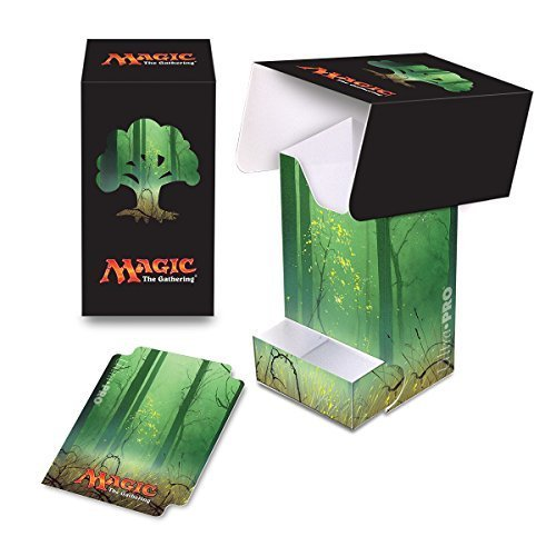 Forest Deck (Ultra Pro Mana 5 Unhinged Forest Full View Deck Box with Tray for Magic)