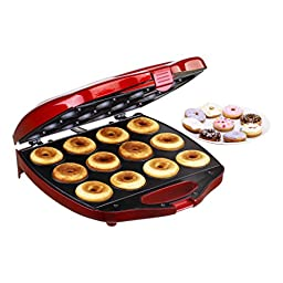 Deluxe 12 Hole Electric Mini Donut Maker