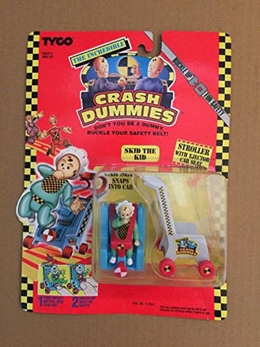 The Incredible Crash Dummies Skid The Kid with