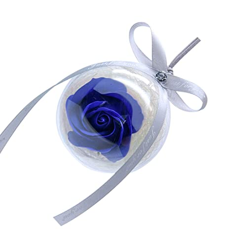Gonee Jabón Transparente Inmortal Flor de la Bola de Rose ...
