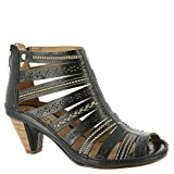 Pikolinos Women's Java Sandal W5A-8504,Black Leather,EU 39 M