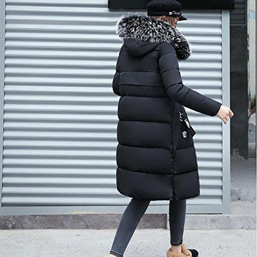 Dans Hiver Doudoune Chaud Duvet la Veste Femmes Manteau en Femm Familizo Longue Pq5wgIx
