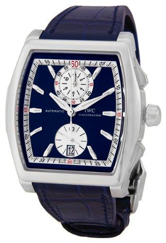IWC - Reloj de pulsera hombre, piel, color azul