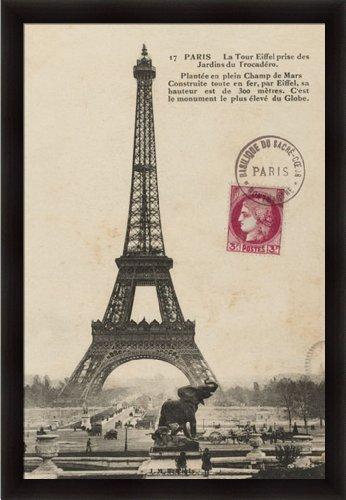 Vintage Postcards Framed Art - 2