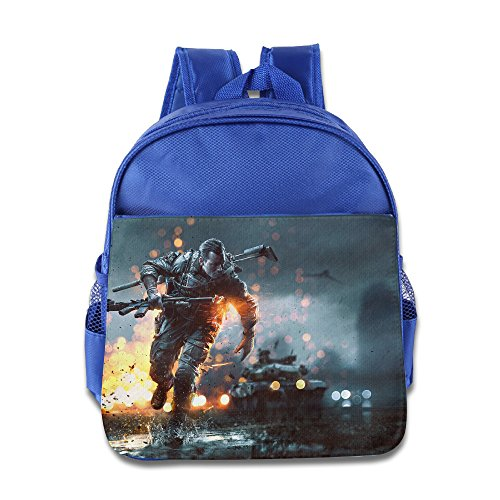 MoMo Unisex Battlefield 4 Poster Kids Lunch Bag For Little Kids