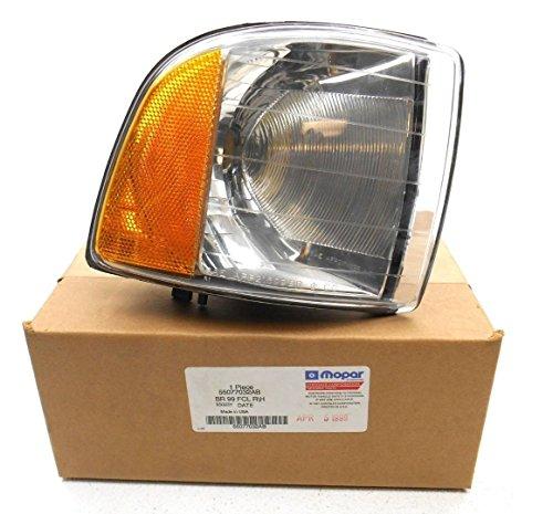 Mopar Parts Catalog - OEM Mopar 1999-2002 Dodge Ram W/ Sports Package RH Passenger Corner Signal Park Lamp